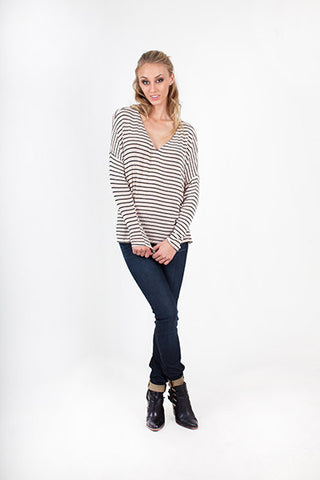 Jolie Striped Sweater