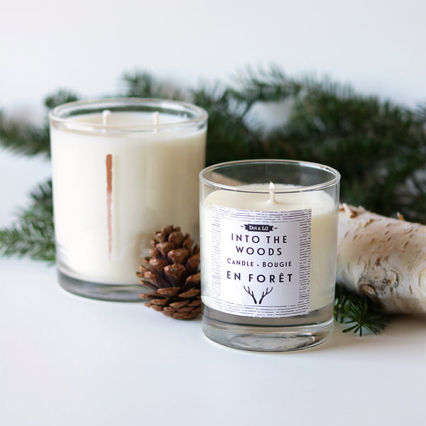 Woodlot scented Candles