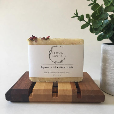 Natural Citrus & Sea Salt Soap