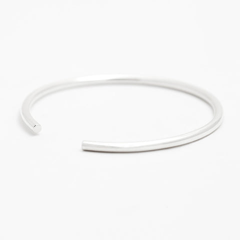 ETTA Silver Open Bangle