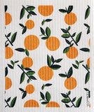 Orange Citrus Sponge Cloth
