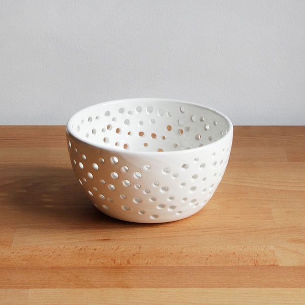 Ceramic Fruit Strainer