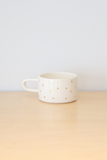 Ceramic Gold Dot Mug