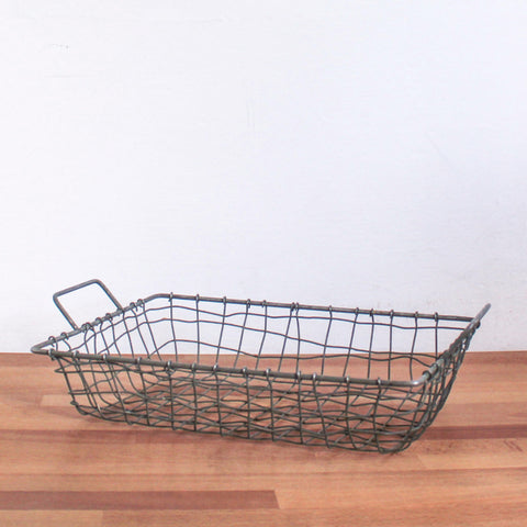 Grey Wire Tray