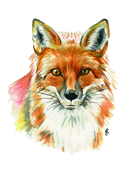 Fox Print - Mikko x Julia Haney
