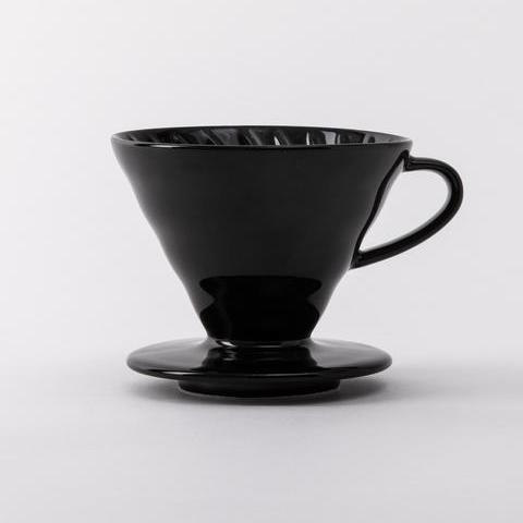Black Ceramic V60 Dripper