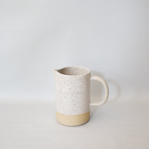 Speckled Ceramic Pitcher