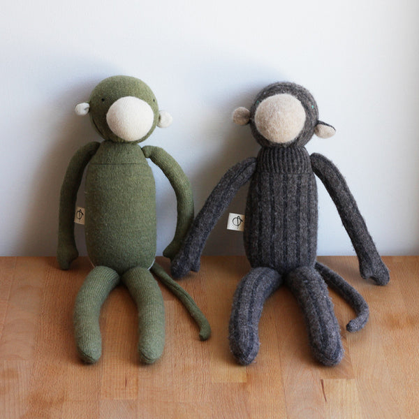 Plush Wool Monkey