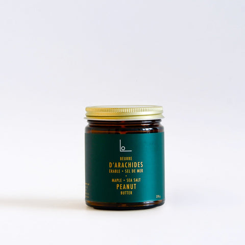 Maple Sea Salt Peanut Butter