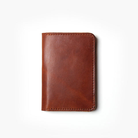 Vertical Leather Wallet PREORDER
