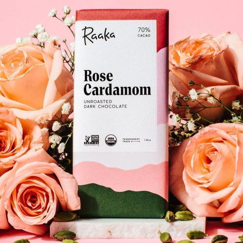 Raaka Rose Cardamom Chocolate