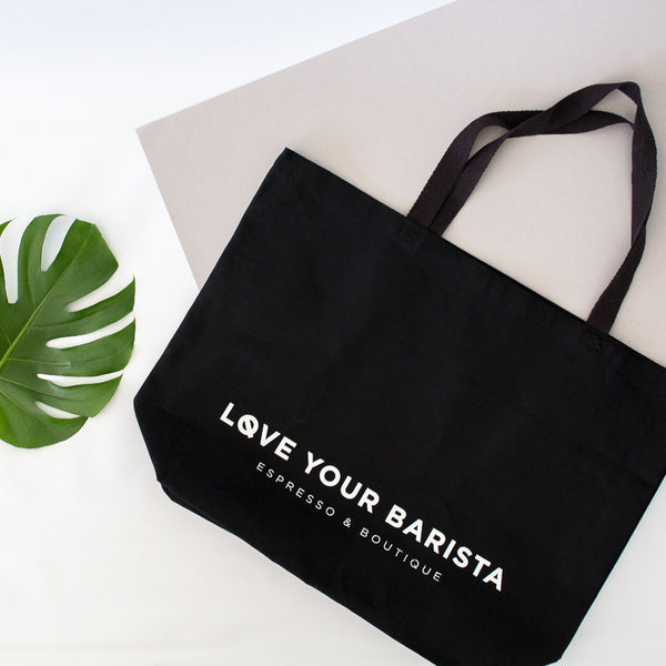 Love Your Barista Tote Bag