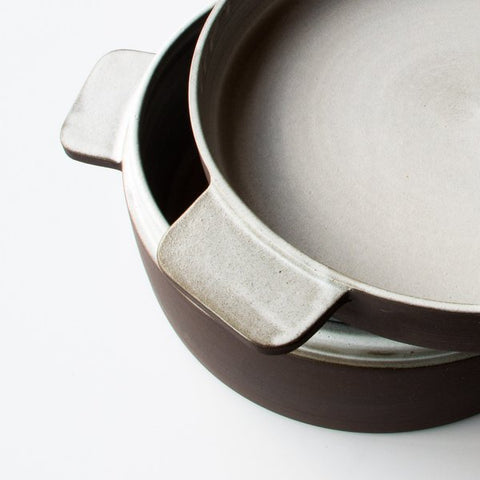Marron Ceramic Coupelle