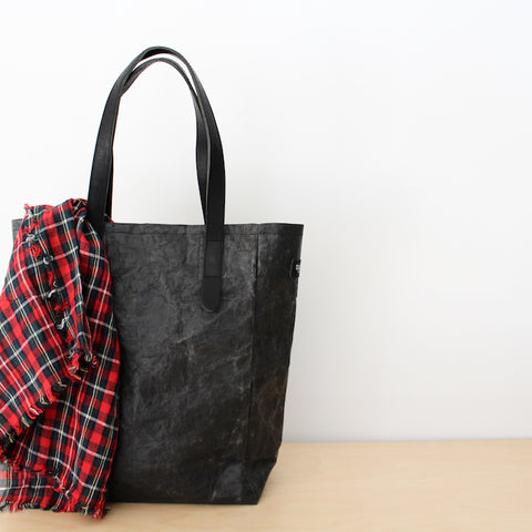Shine Tote Bag - Black