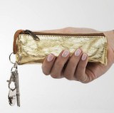 Metallic Key Purse