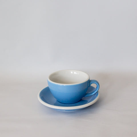 Blue Acme Cappuccino Cup