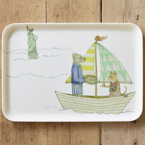 Kids Breakfast Tray : Statue of Liberty