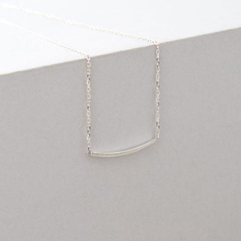 Angular Contour Necklace