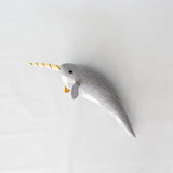 Wool Narwhal Toy