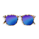 Sunglasses E - Mirrored Blue Tortoise