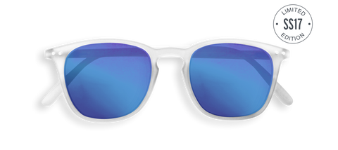 Sunglasses E - White Mirror Lens