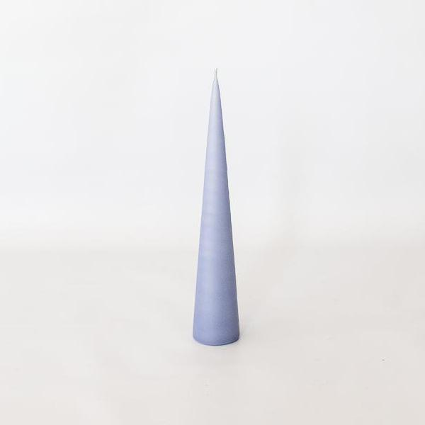 Conical Candle - Lavender Blue