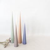 Conical Candle - Nude Blush