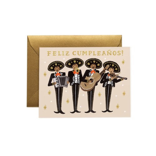 MARIACHI BIRTHDAY CARD - Rifle Paper Co.