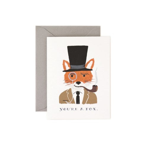 YOU'RE A FOX CARD - Rifle Paper Co.