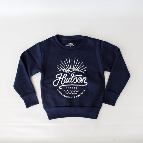 Mini Hudson Crewneck - Navy