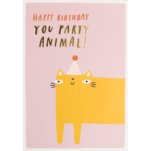 PARTY ANIMAL Card - Meraki