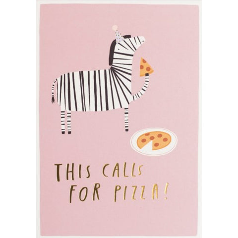 ZEBRA BIRTHDAY Card - Meraki