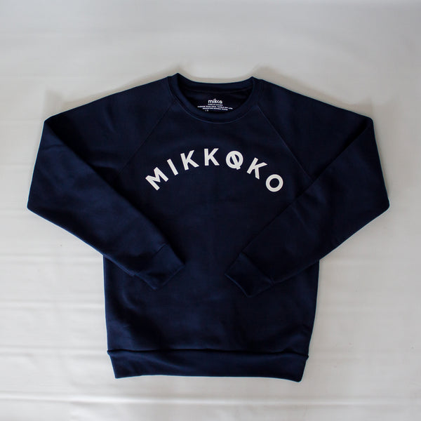 Mini Mikkoko Crewneck - Navy