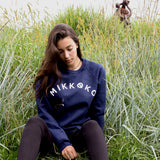 Adult Mikkoko Crewneck - Navy