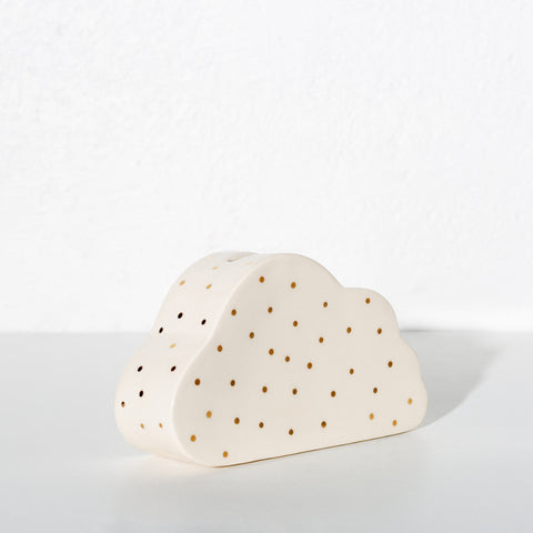 Ceramic Cloud Penny Bank