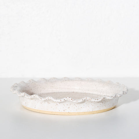 Speckled Pie Plate