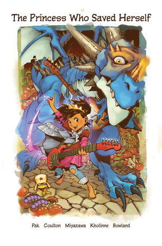 The Princess Who Saved Herself children's book - signed by Greg Pak!
