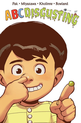 ABC DISGUSTING children's book - retailer special! - signed by writer Greg Pak!