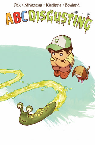 ABC Disgusting children's book - RARE VARIANT COVER! - signed by Greg Pak!
