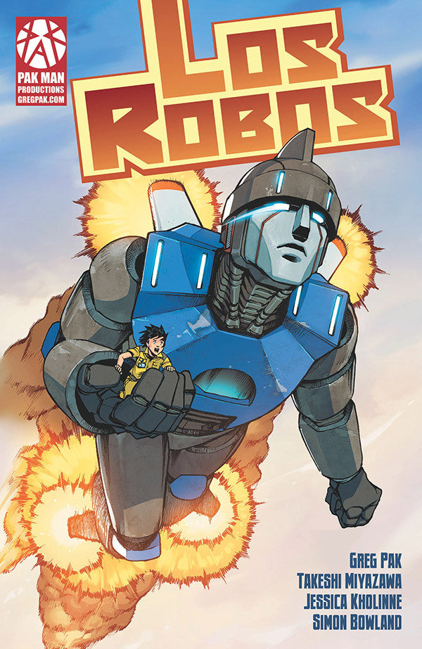 Los Robos comic book - signed by Greg Pak!
