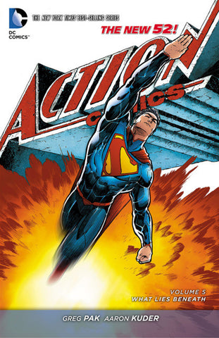 Action Comics Vol. 5 hardcover, signed by Greg Pak!