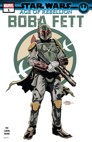 STAR WARS AGE OF REBELLION: BOBA FETT #1 - signed by Greg Pak