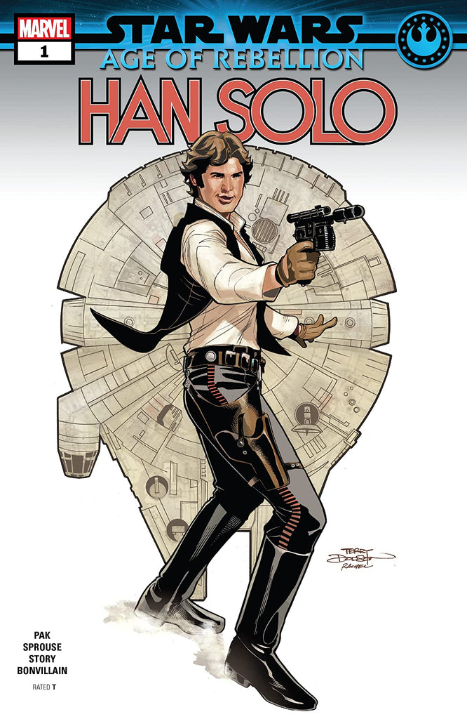 STAR WARS AGE OF REBELLION: HAN SOLO #1 - signed by Greg Pak