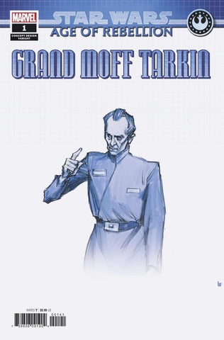 STAR WARS AGE OF REBELLION: TARKIN #1 variant - signed by Greg Pak