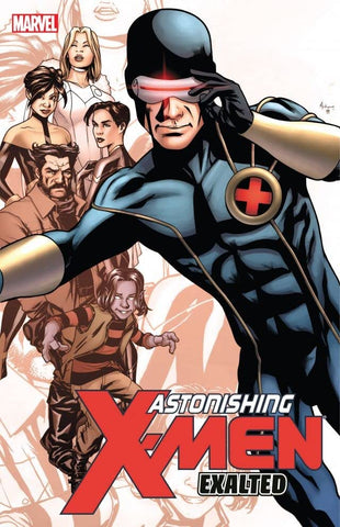 ASTONISHING X-MEN: EXALTED hardcover - signed by Greg Pak!