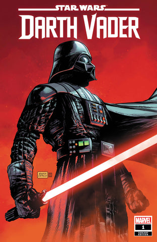 STAR WARS: DARTH VADER #1 Ienco variant cover! Signed by Greg Pak