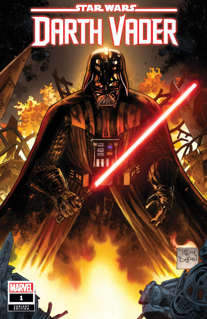 STAR WARS: DARTH VADER #1 Tony Daniel variant cover! Signed by Greg Pak