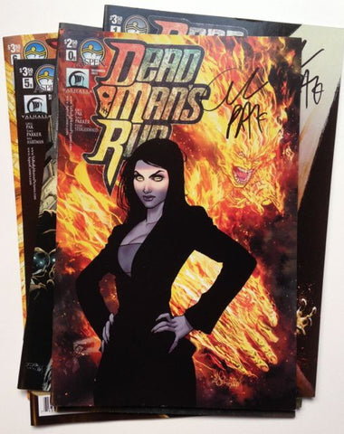 Dead Man's Run #0-6, complete run, signed by Greg Pak!