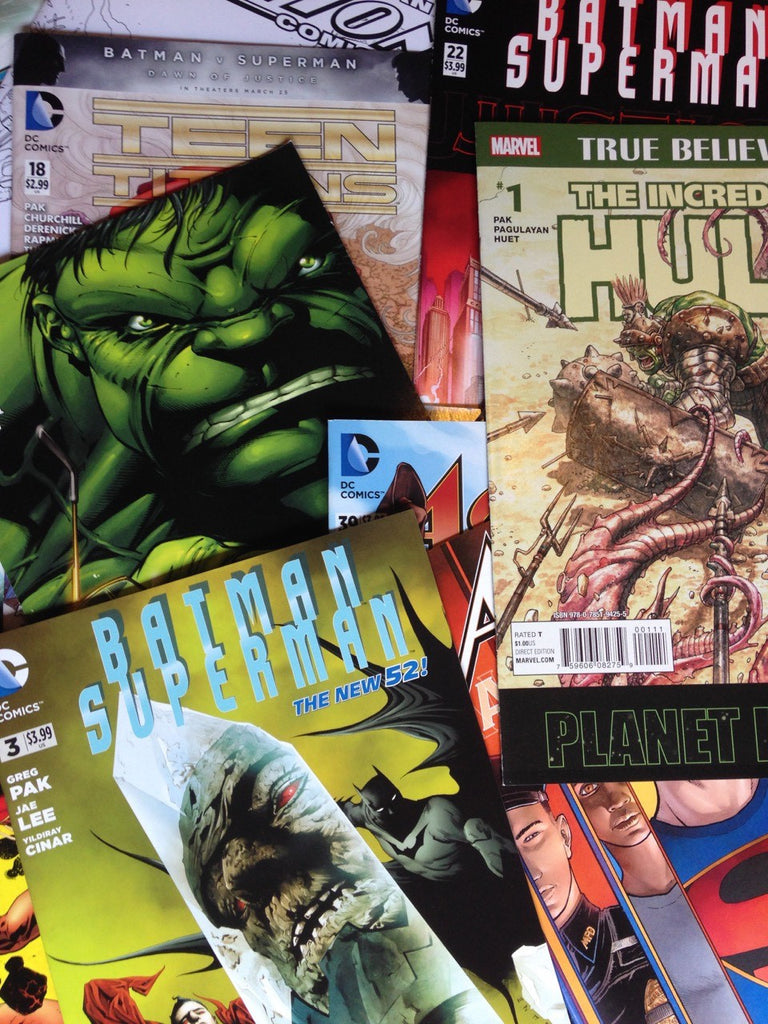 Mystery box of 25 comics signed by Greg Pak!