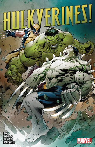 HULKVERINES paperback - signed by Greg Pak!